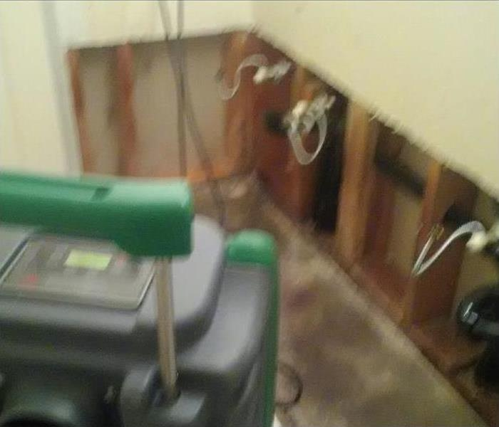 Mold Damage – Cypress Home After